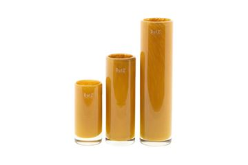 Cylinder small gold topaz