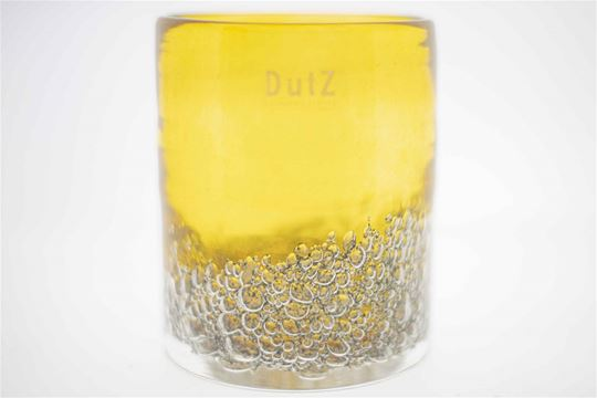 Cylinder bubbles gold